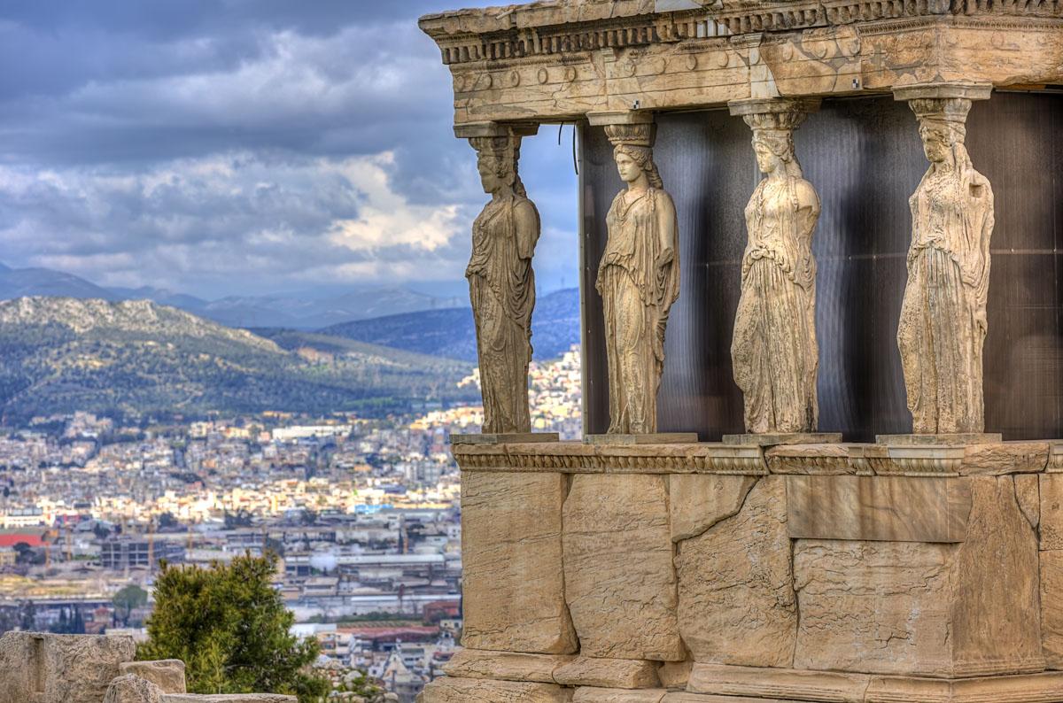 Эрехтейон, Афинский акрополь