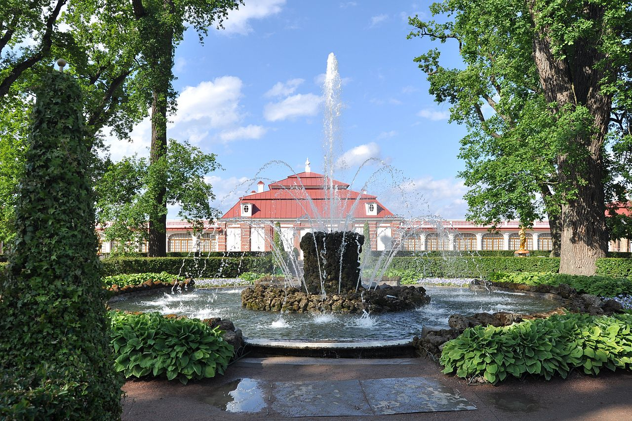 Дворец Монплезир, фонтан