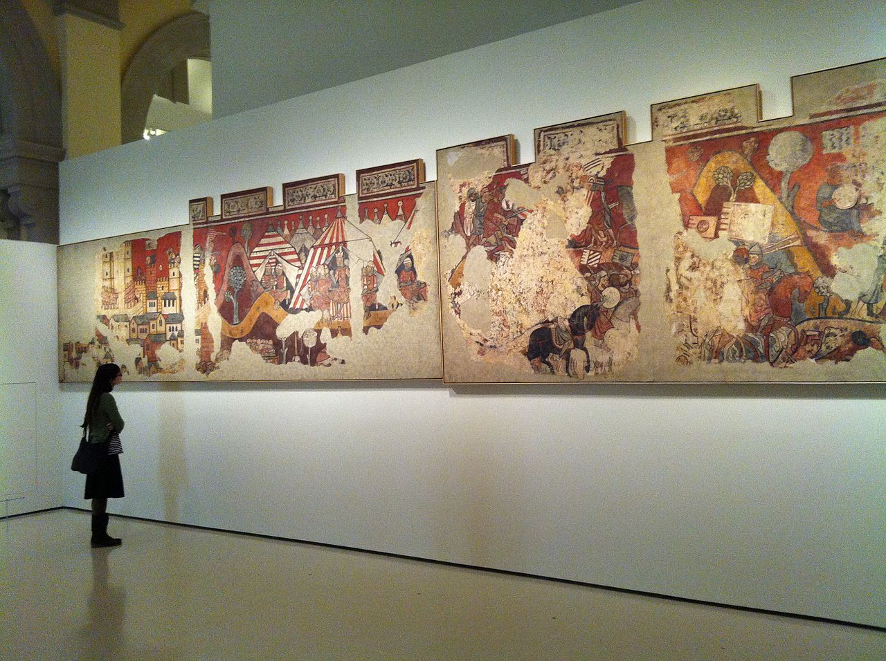 Национальный музей искусства Каталонии, Покорение Майорки