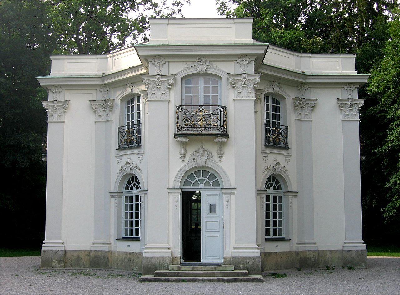 Нимфенбург, чайный домик