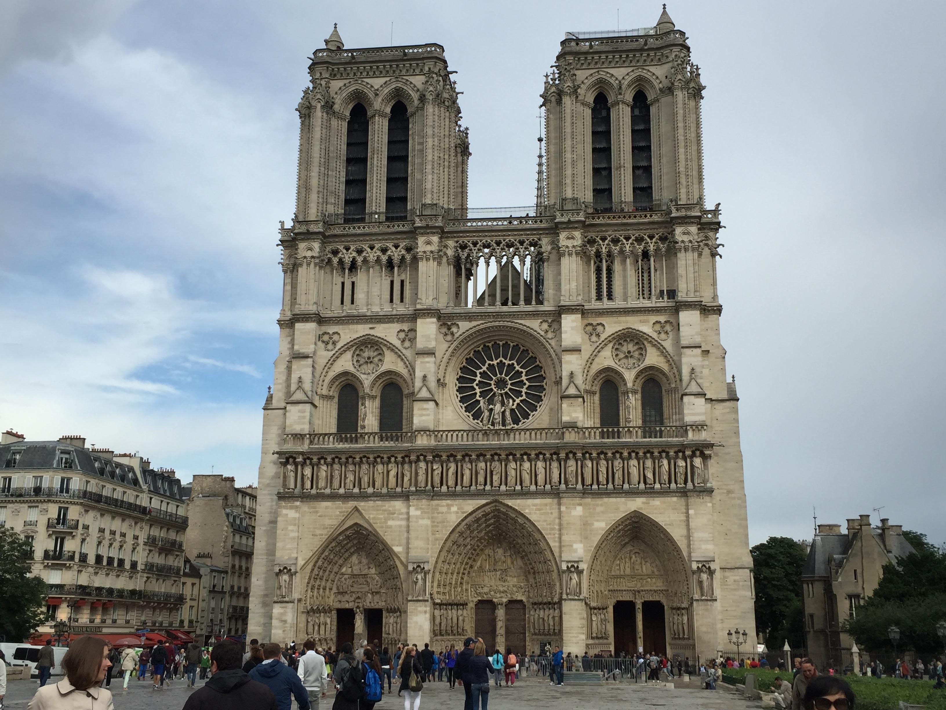 Собор Парижской Богоматери, Париж, Франция