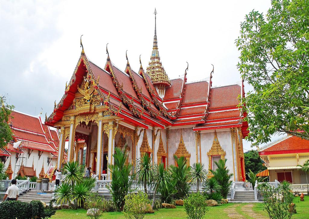 Храм Ват Чалонг, убосот
