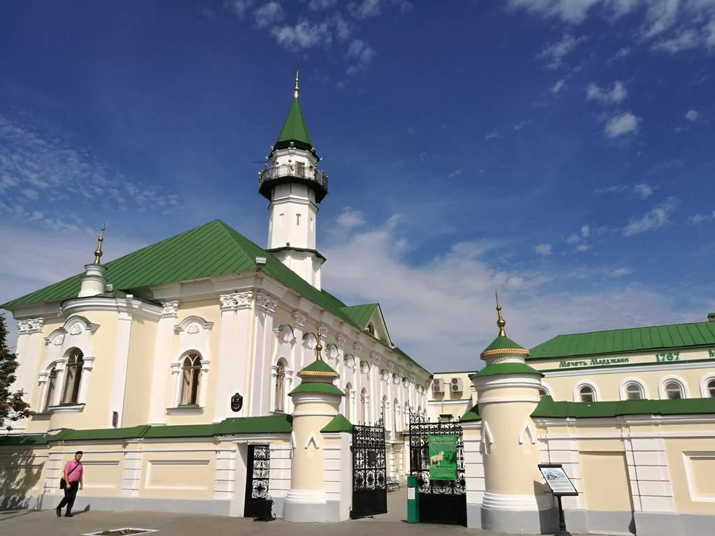 Вид на мечеть Марджани, Казань