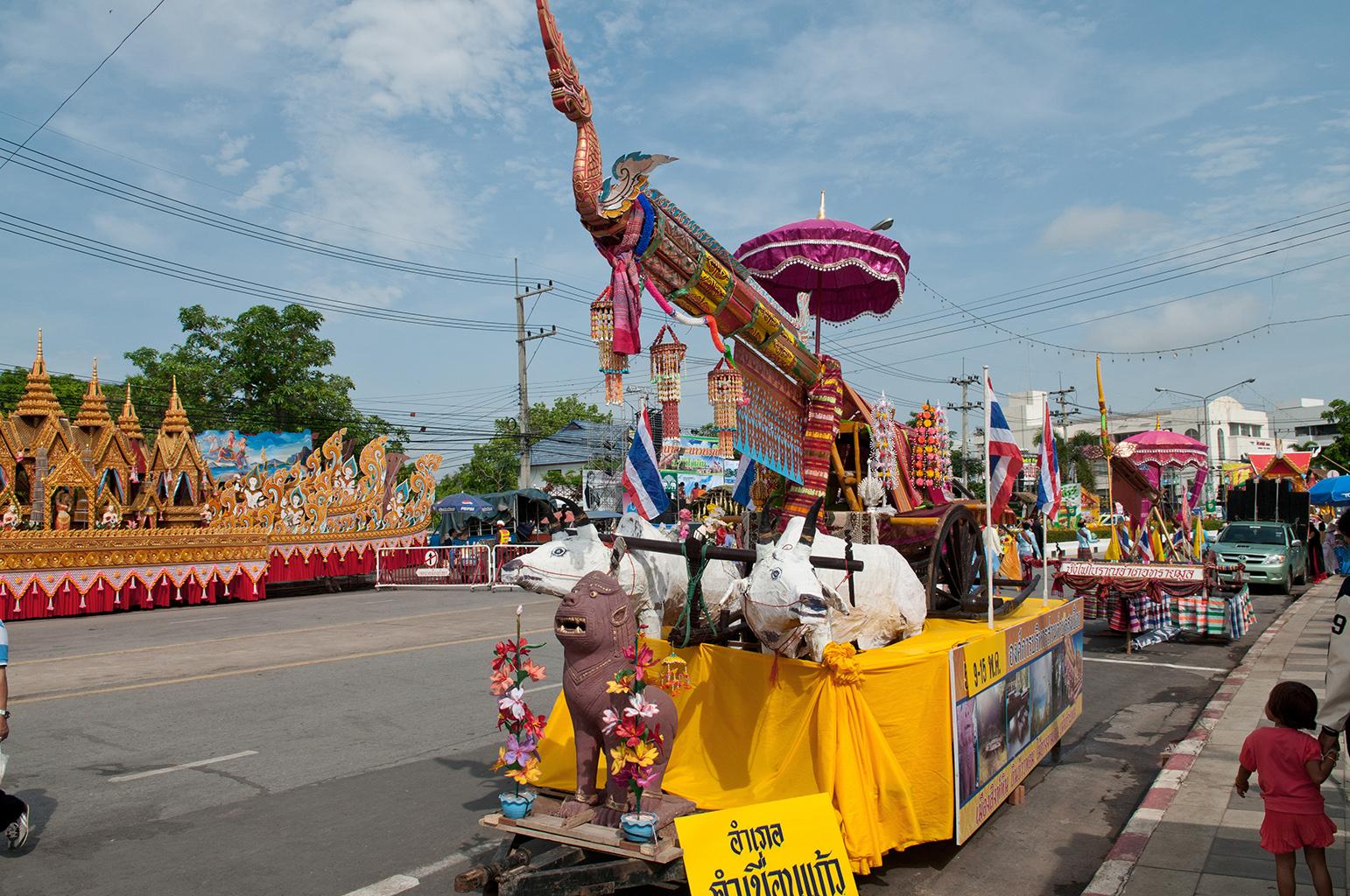 Таиландский фестиваль ракет