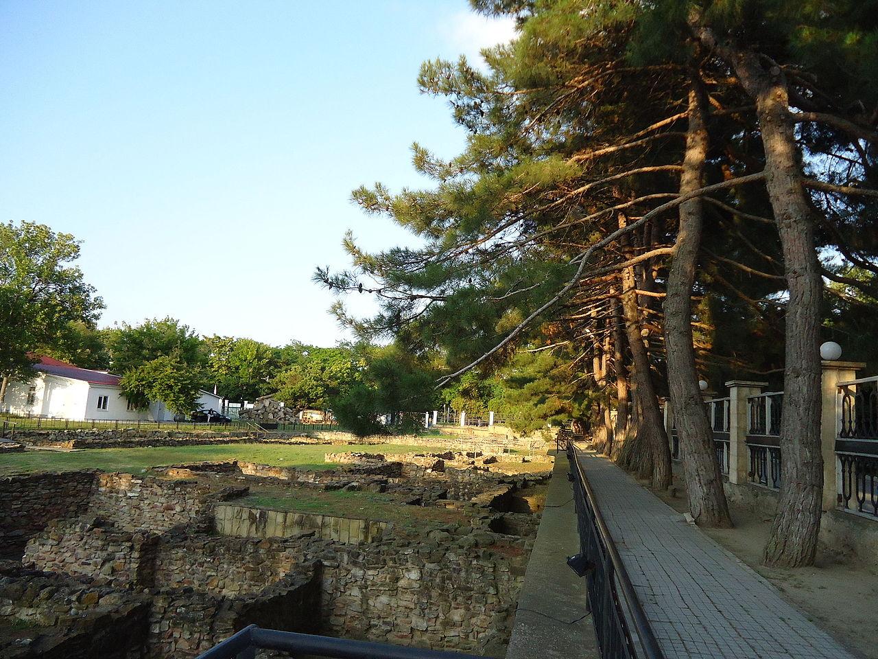 Городище древнего античного города Горкиппия, Анапа