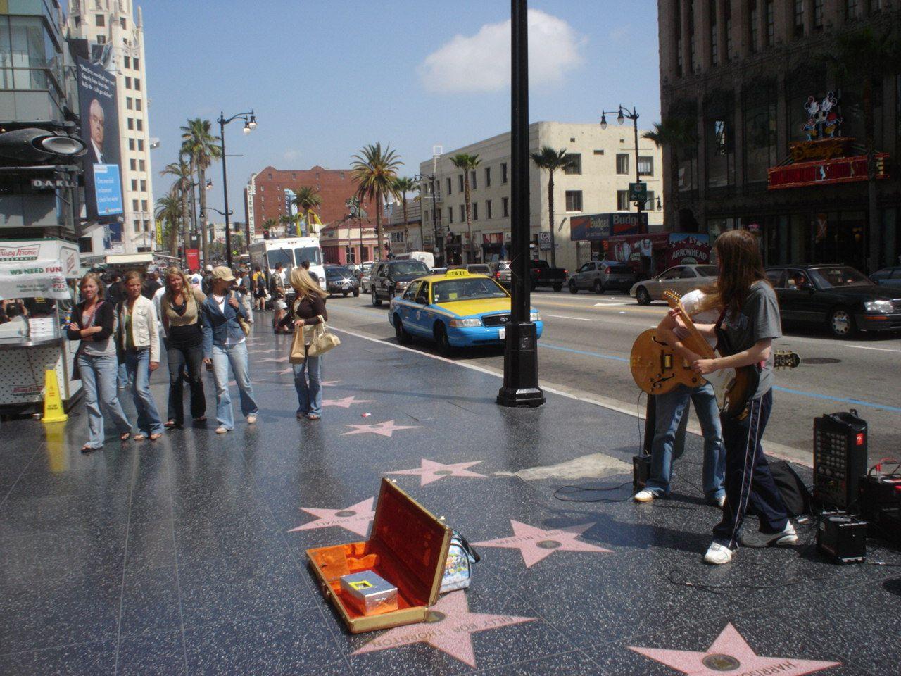 Аллея славы Голливуда