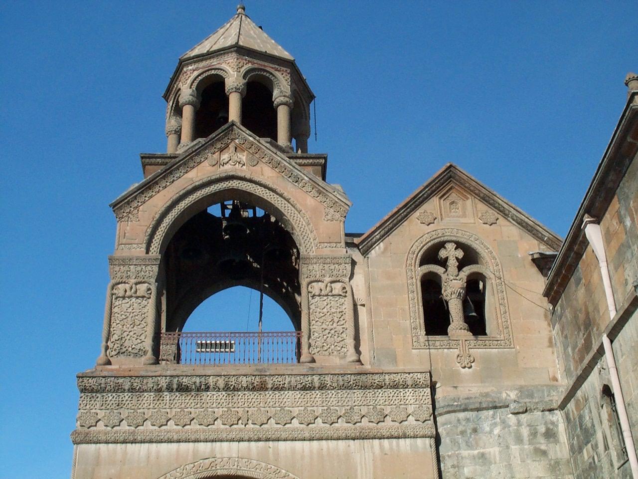 Эчмиадзинский кафедральный собор, фасад