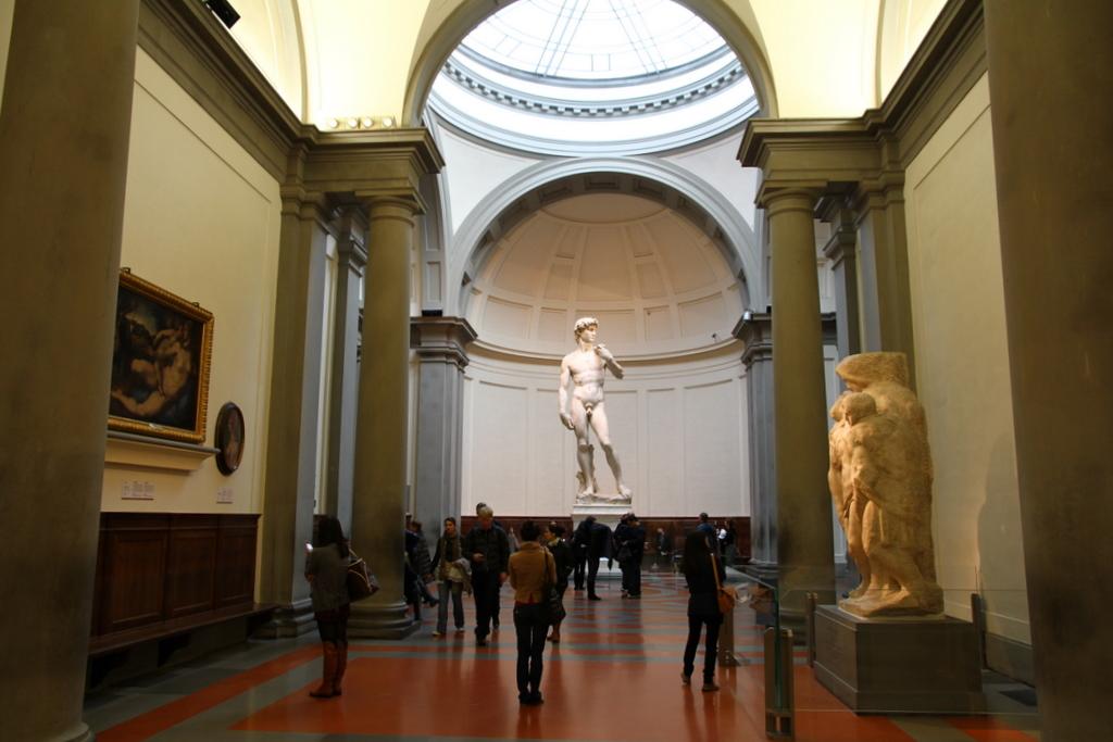 Галерея Академии, статуя Давида