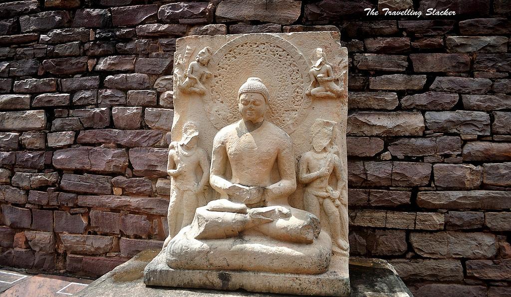 Скульптура Будды, Ступа в Санчи
