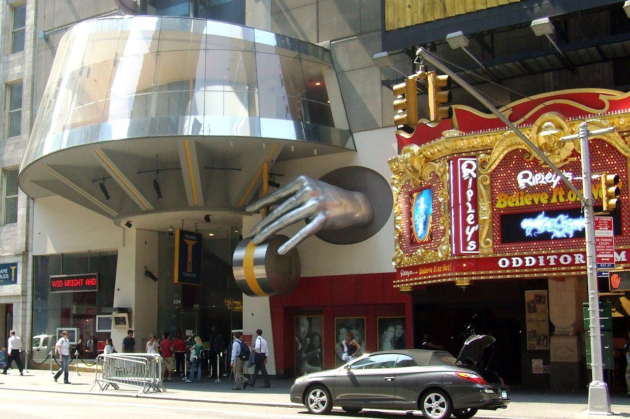 Таймс-Сквер, музей Мадам Тюссо