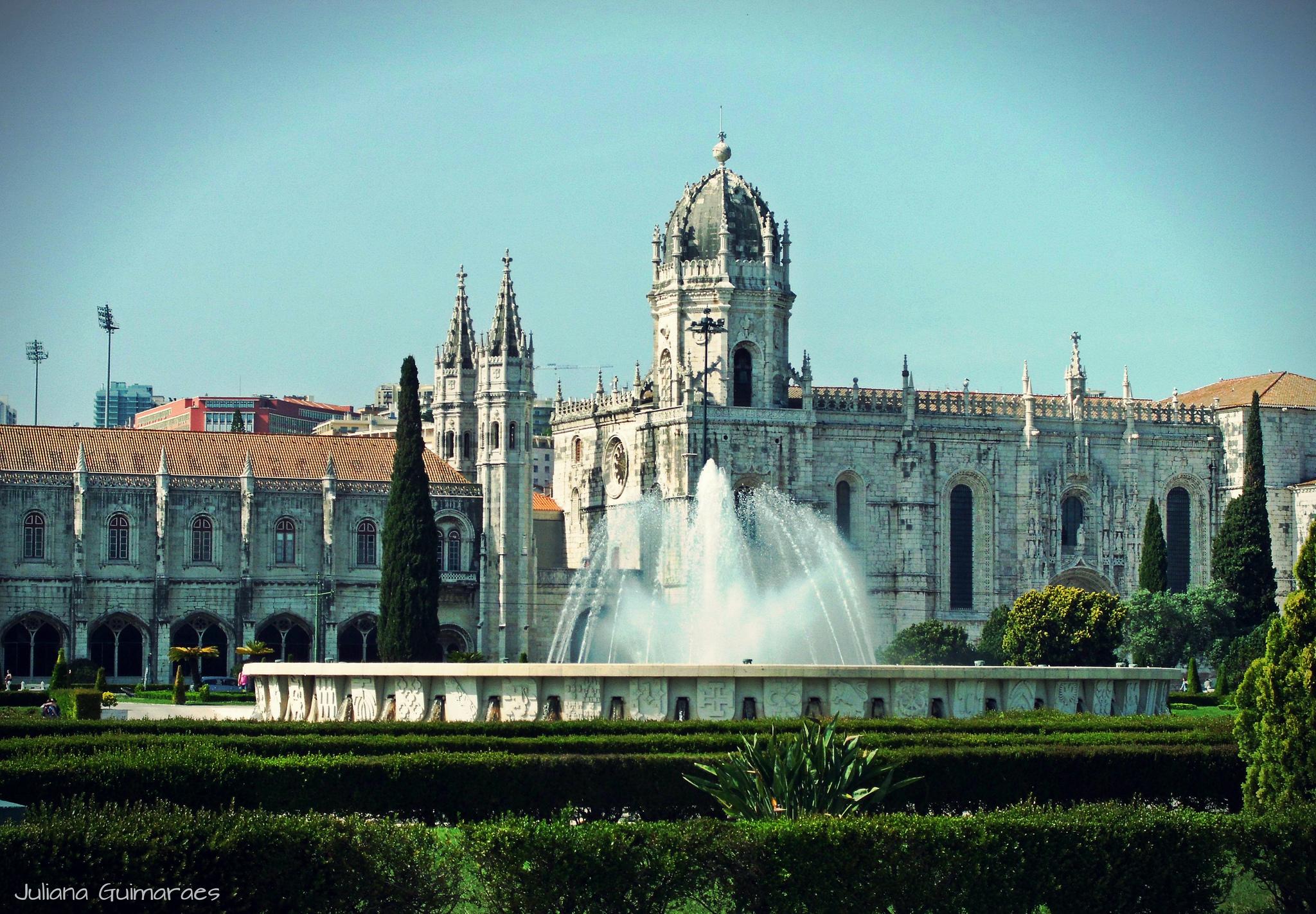 Фонтан, Монастырь Жеронимуш, Лиссабон