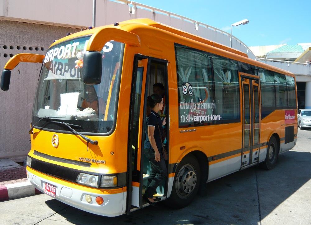 Транспорт на Пхукете Автобусы и тут-туки на Пхукете -