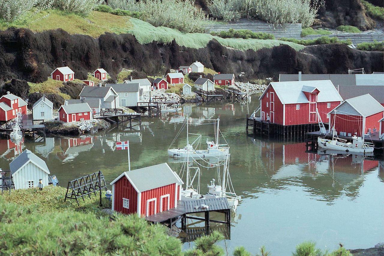 Леголенд в Дании, рыбацкий поселок