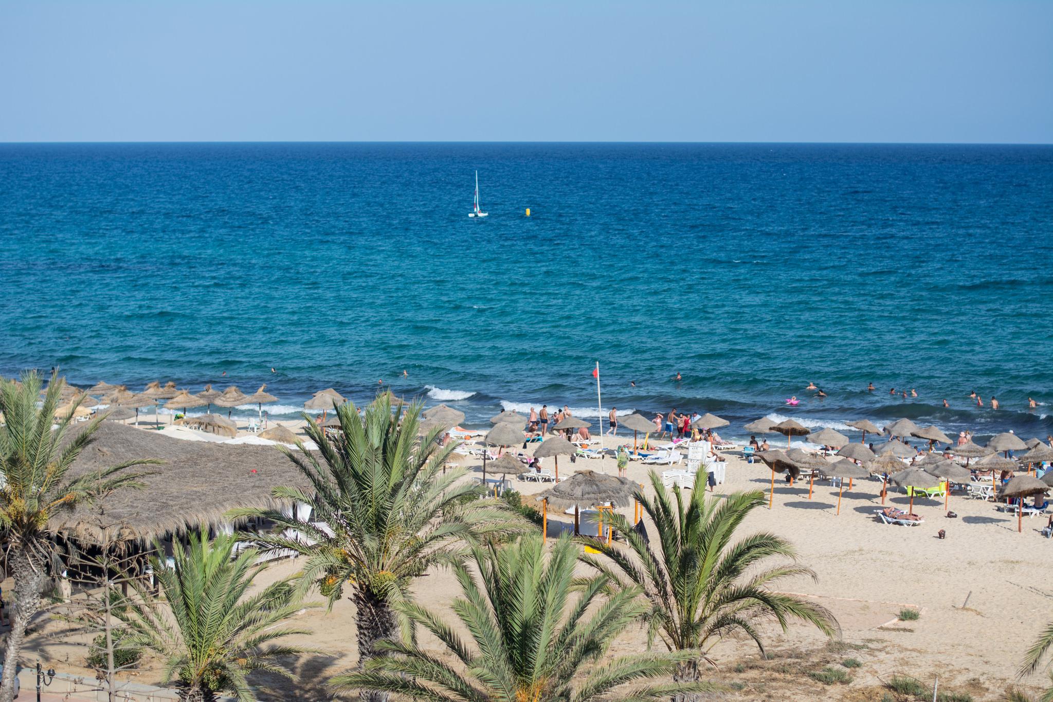 Пляжи Хаммамета, Тунис