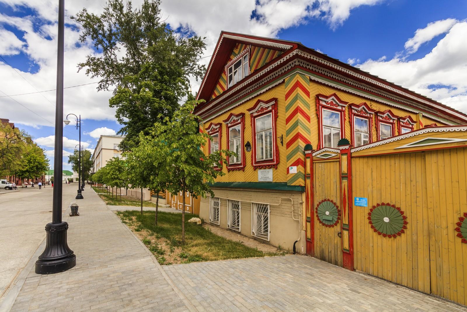 Татарская слобода в Казани, памятник архитектуры