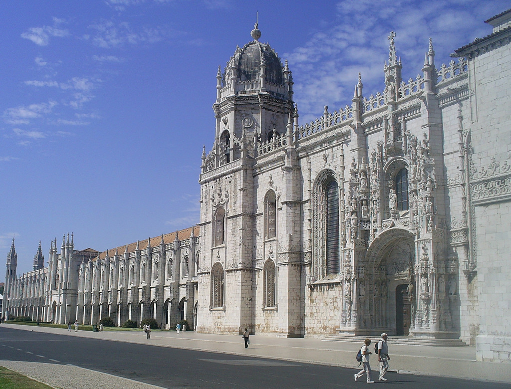 Великолепный монастырь Жеронимуш, Лиссабон
