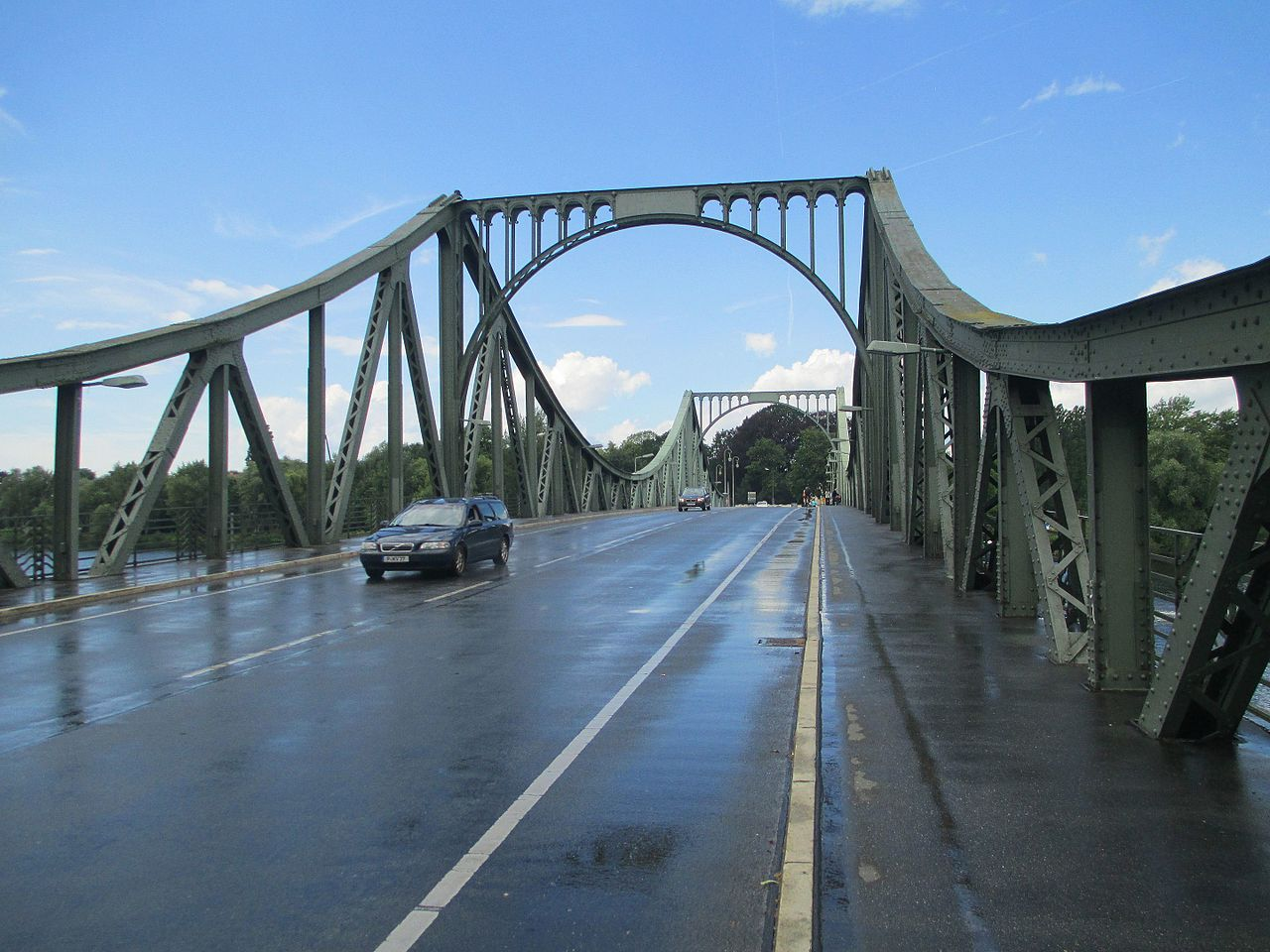 Глиникский мост, исторический «шпионский мост»