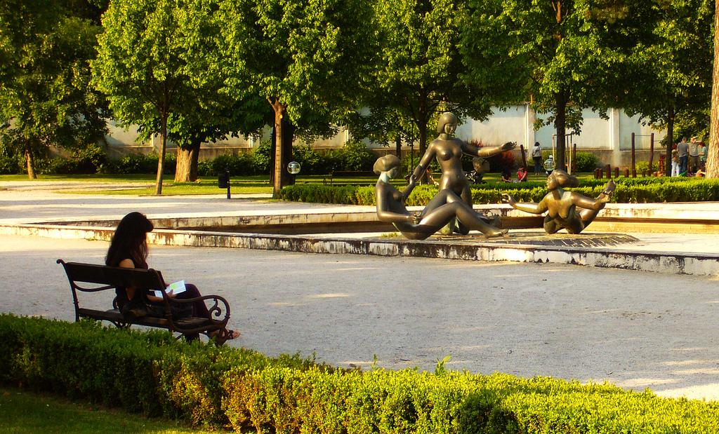 Дворец Грассалковичей, парк