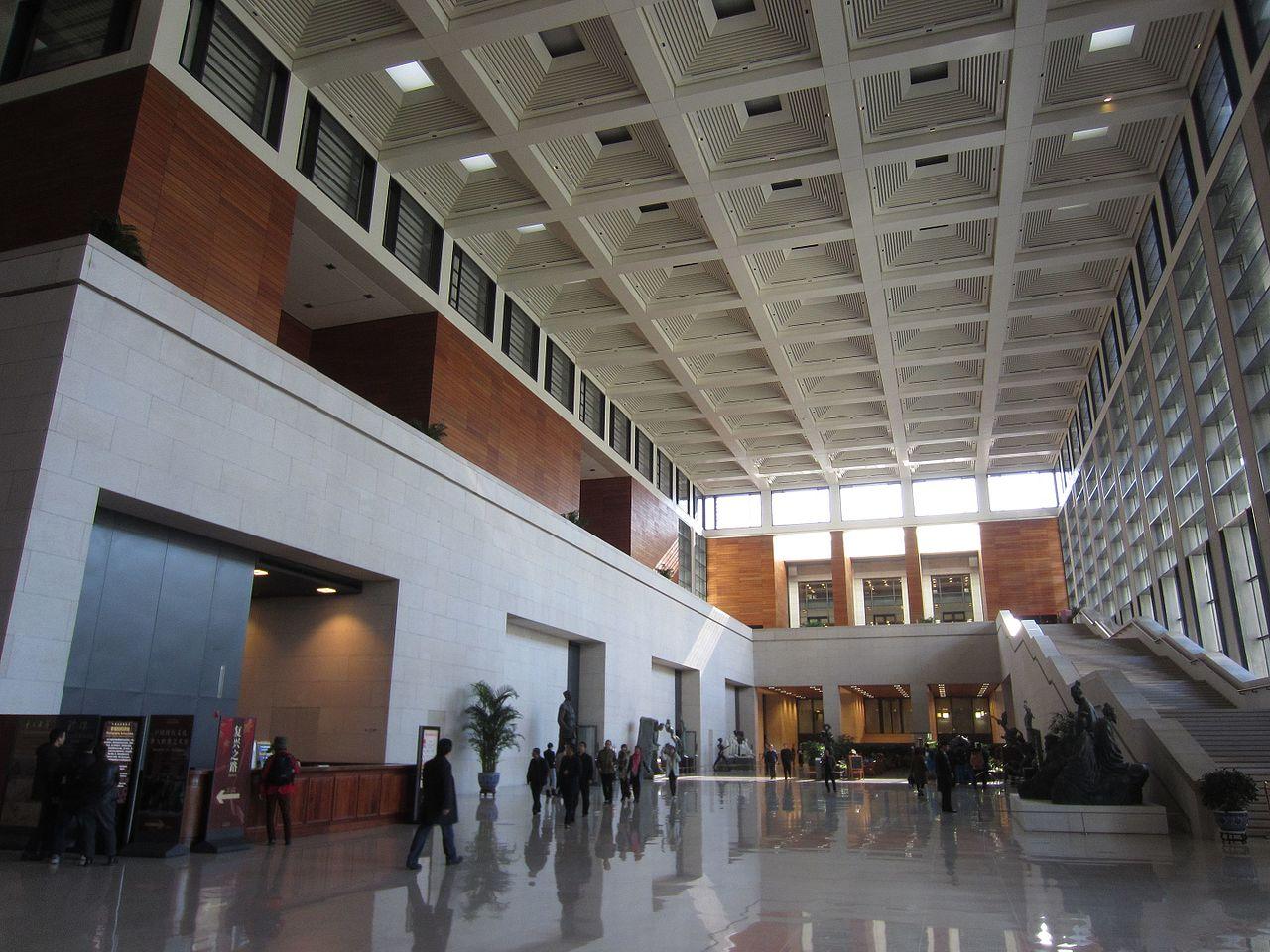 Национальный музей Китая, вестибюль