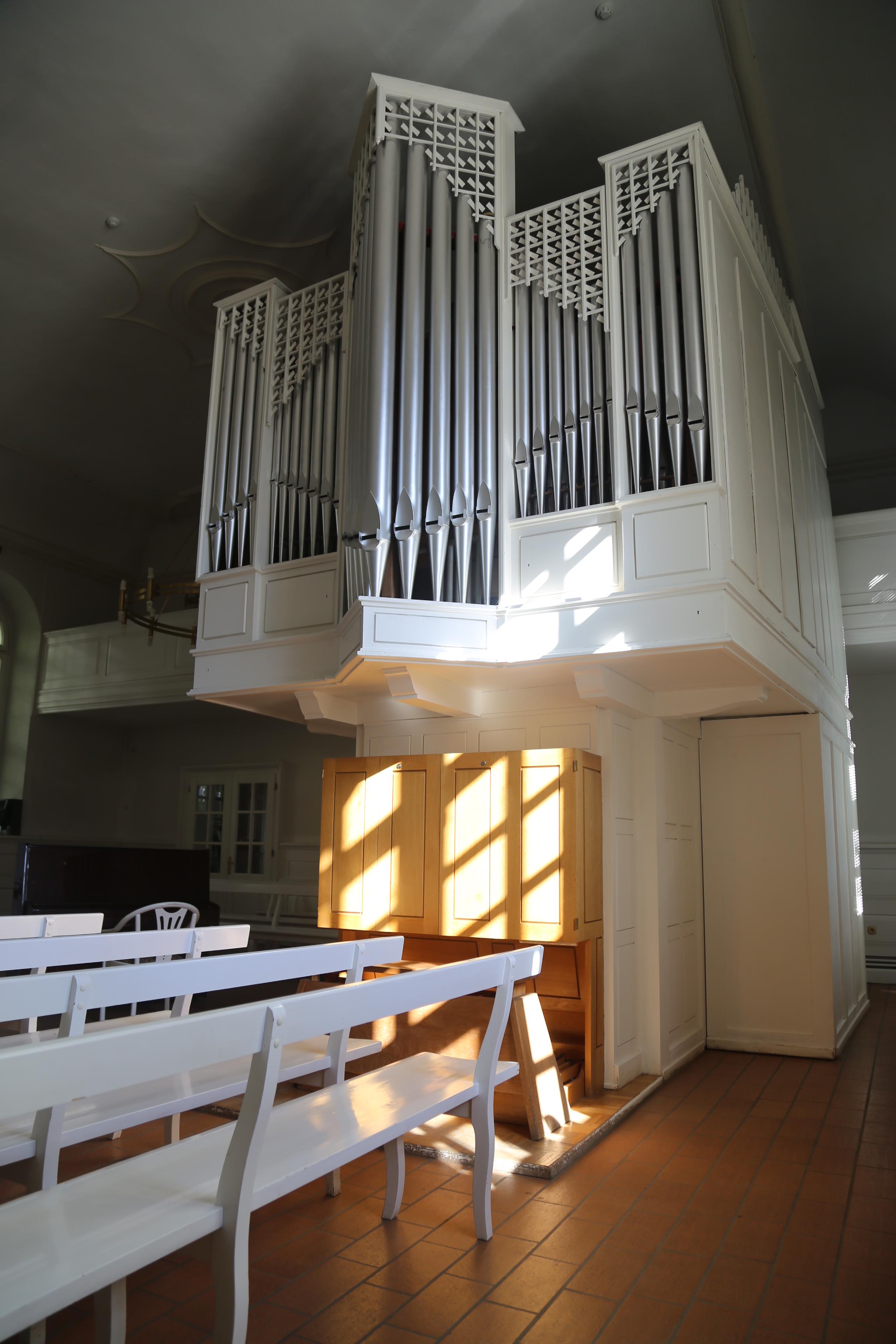 Орган в Старой Сарепте