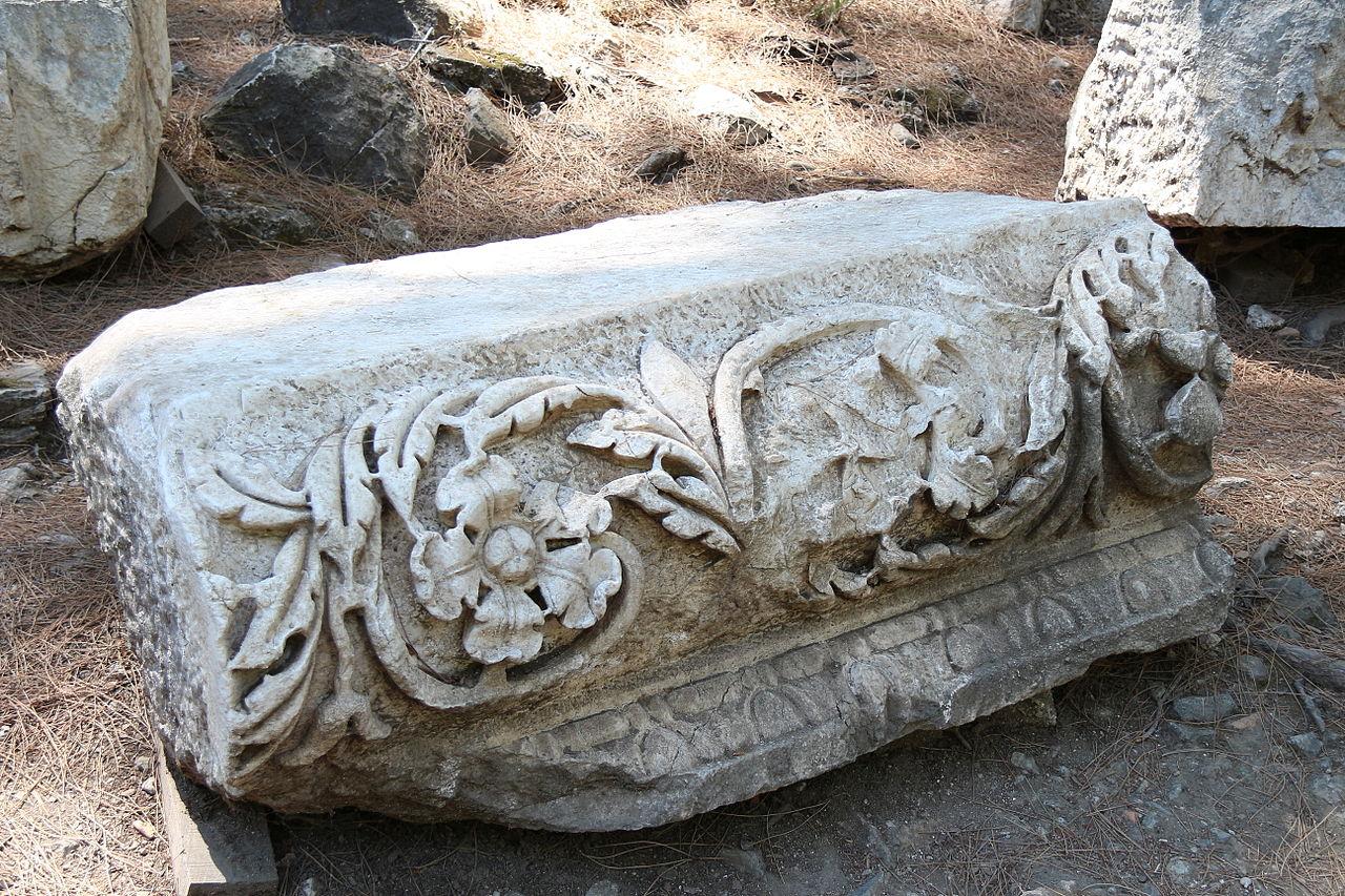 Руины античного города Фаселис, римский период