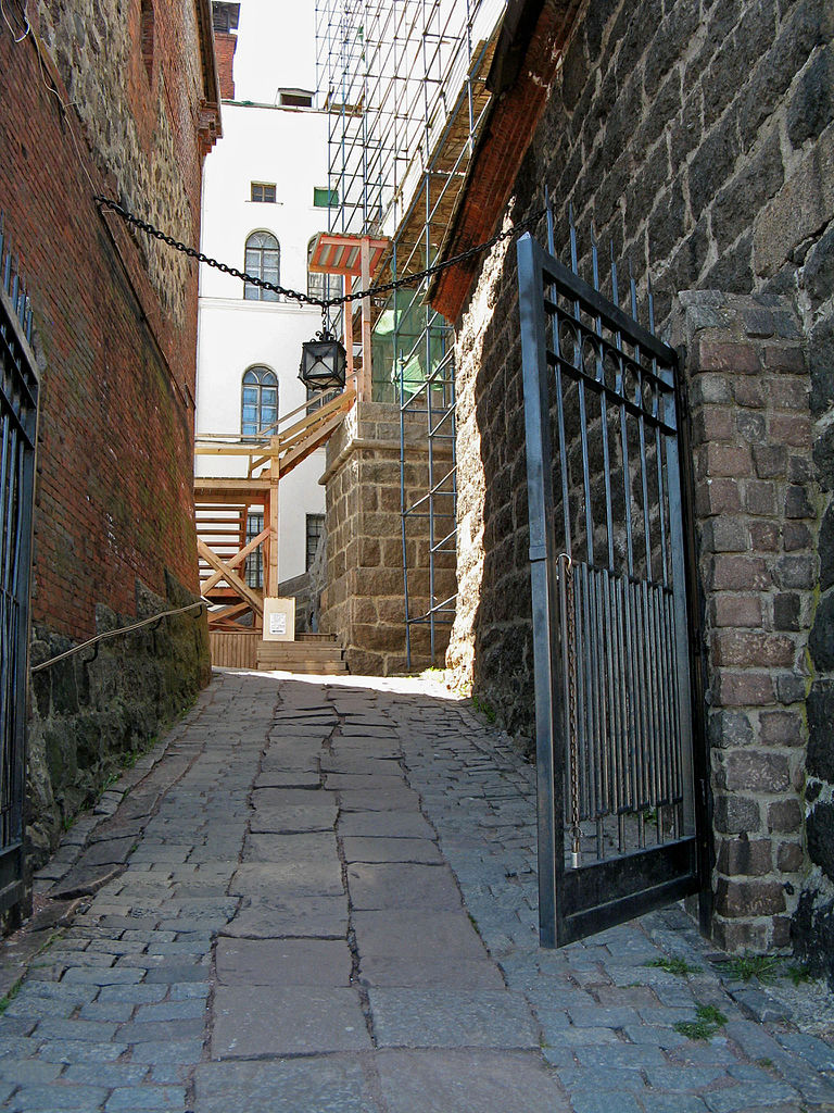 Улицы Выборгского замка