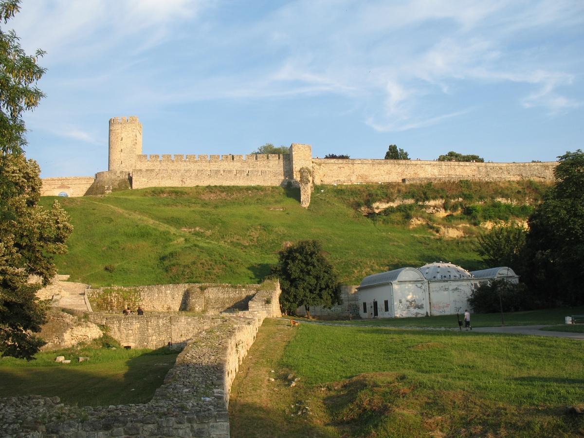 Белградская крепость, панорама