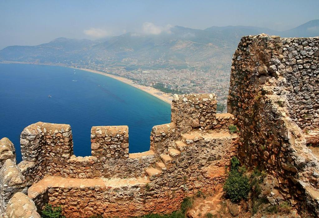 Лучшие пляжи Аланьи в Турции - песчаный пляж Клеопатра 21