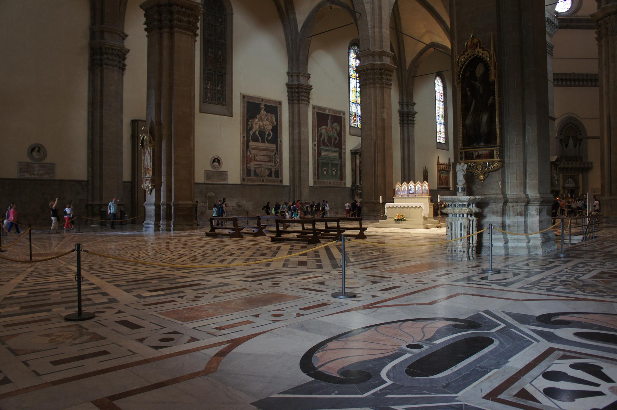Внутри собора Санта-Мария-дель-Фьоре, Флоренция