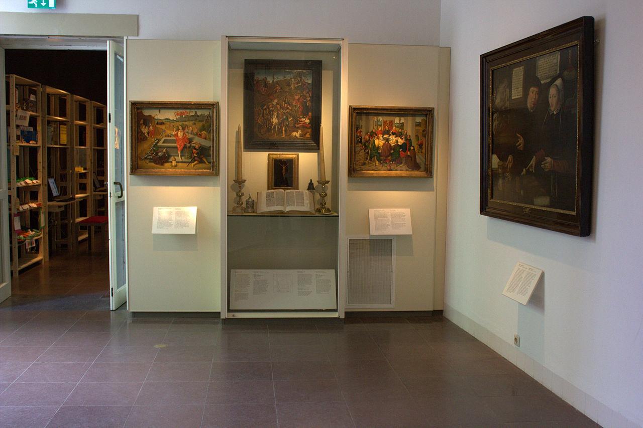 Исторический музей Амстердама, один из залов