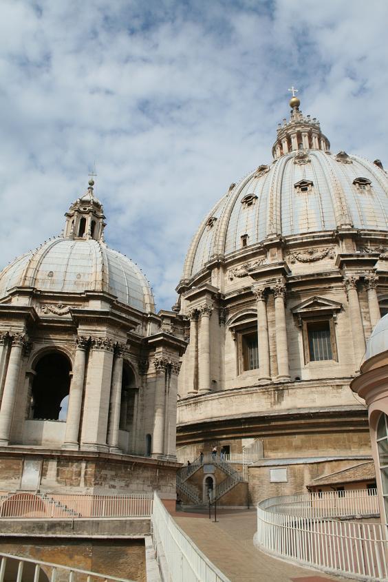 Купол собора св. Петра в Ватикане