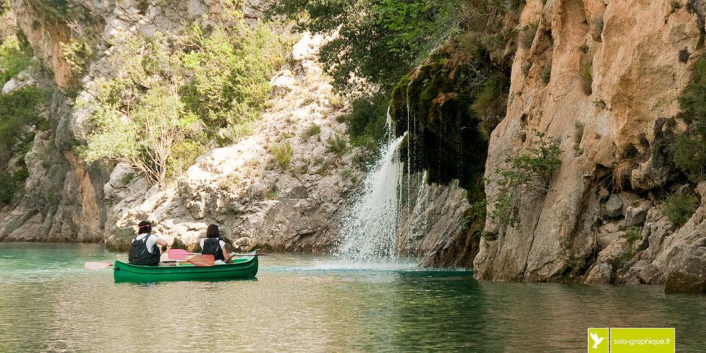 Прогулочная лодка, Вердонское ущелье, Прованс