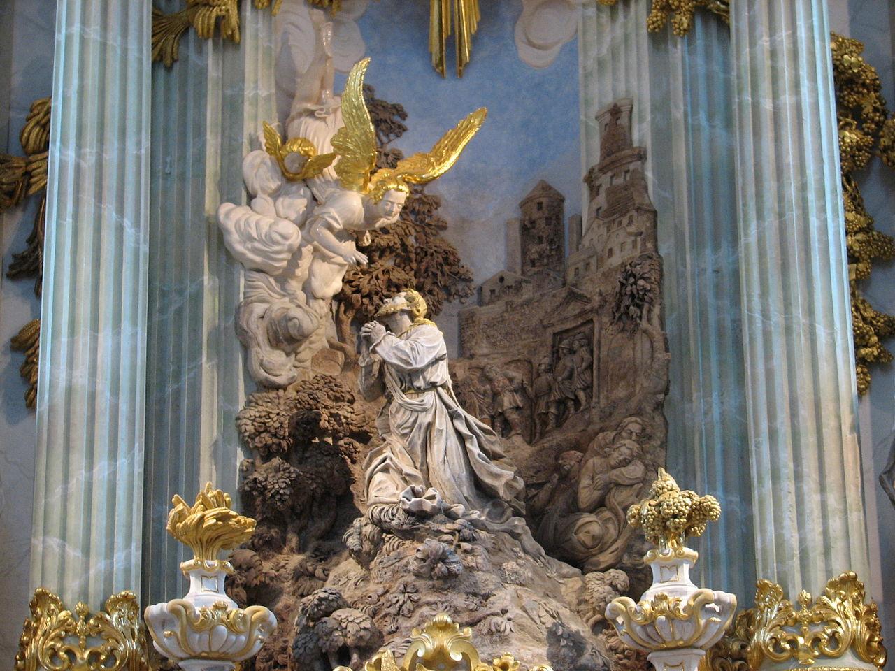 Церковь Фрауэнкирхе, деталь интерьера