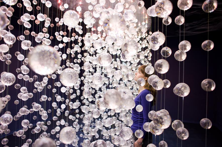 Часть тотальной инсталляции в U-space Вишневый Сад