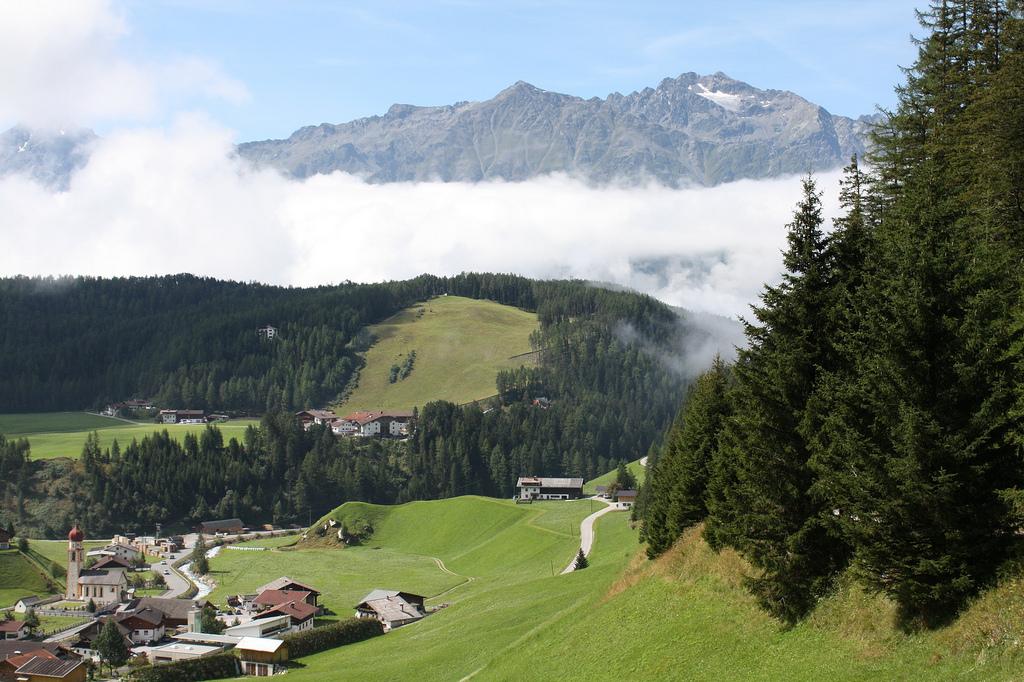 Австрийские Альпы, горная долина