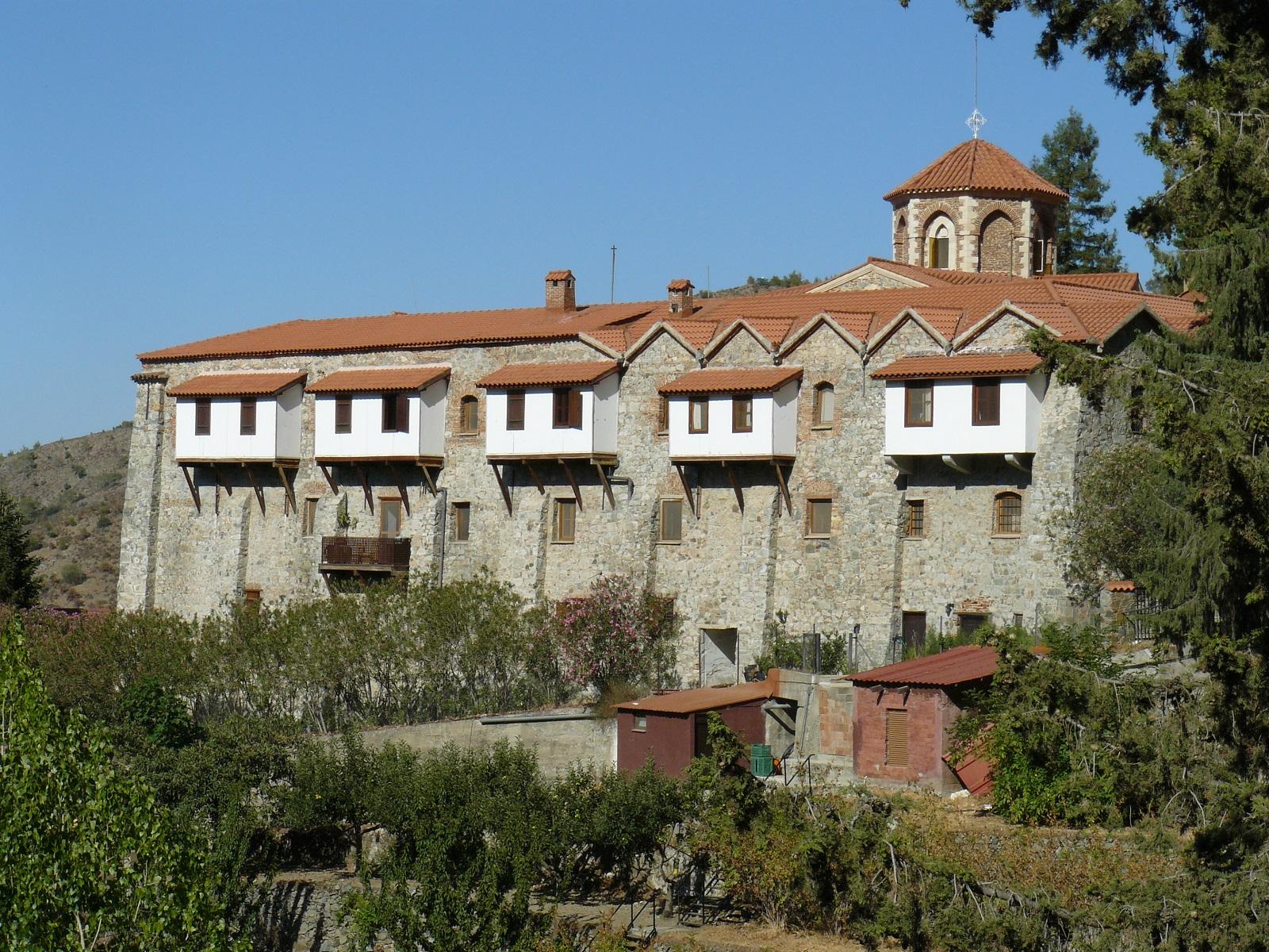 Монастырь Махерас, Кипр