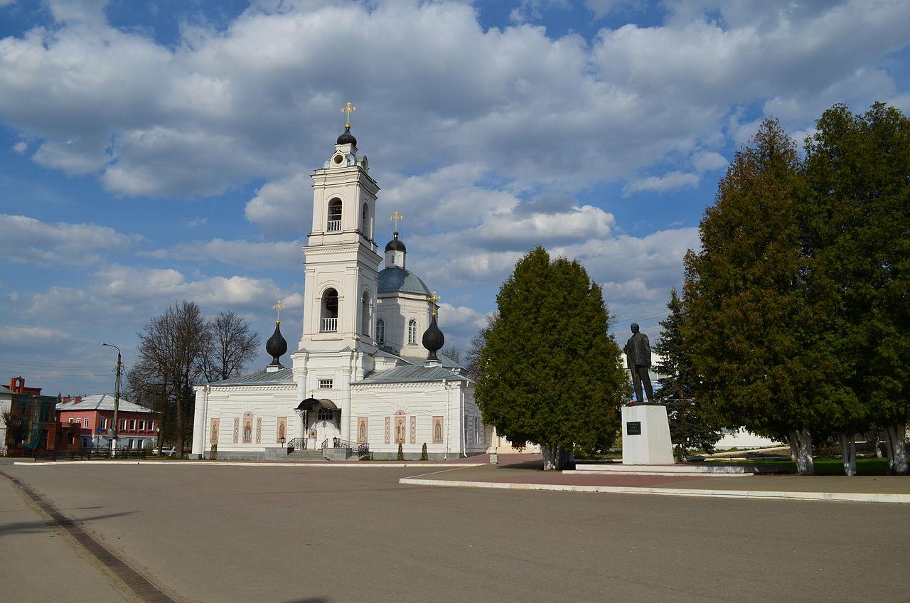 Собор Петра и Павла на площади Ленина (бывшей Соборной площади), Таруса