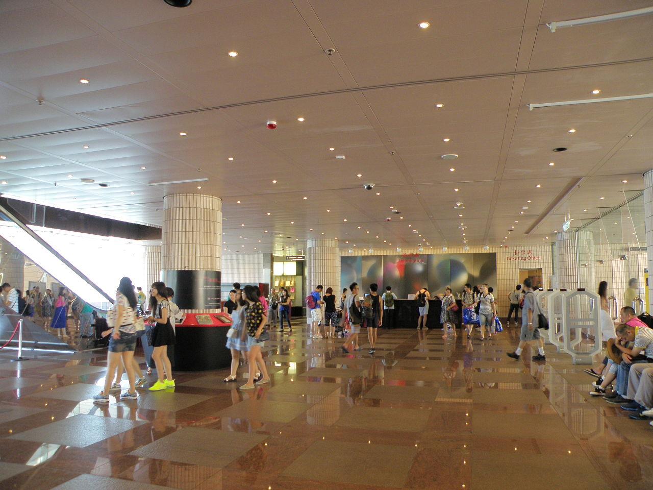 Гонконгский музей искусств, вестибюль