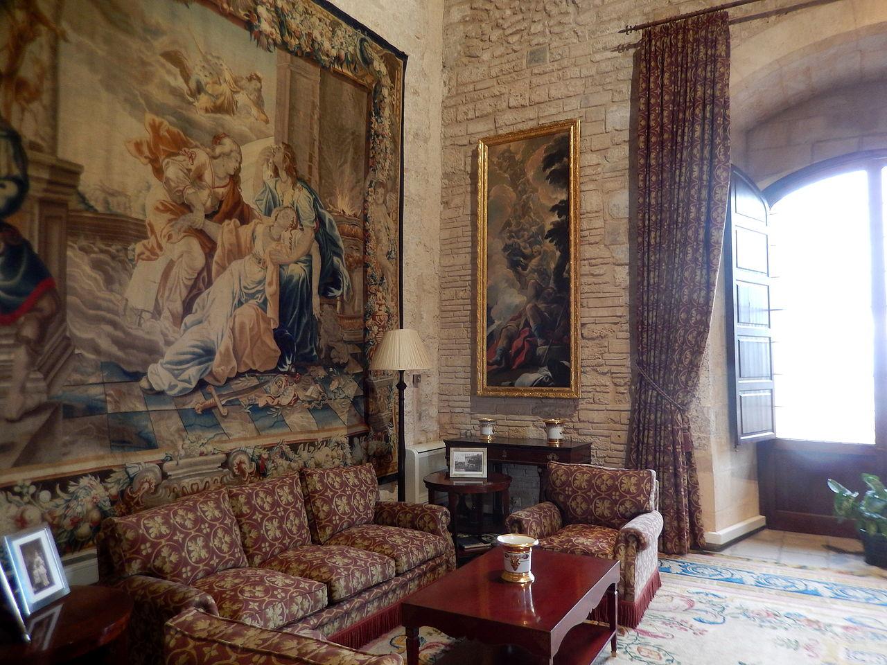 Дворец Альмудайна, интерьер
