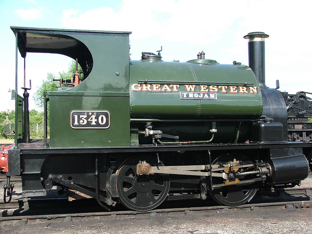 Паровоз Great Western Engine в Оксфорде.jpg