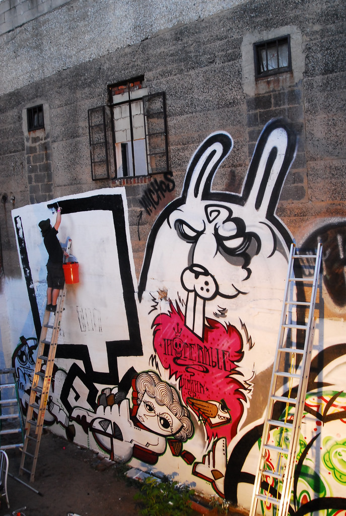Галерея стрит-арта в Вене