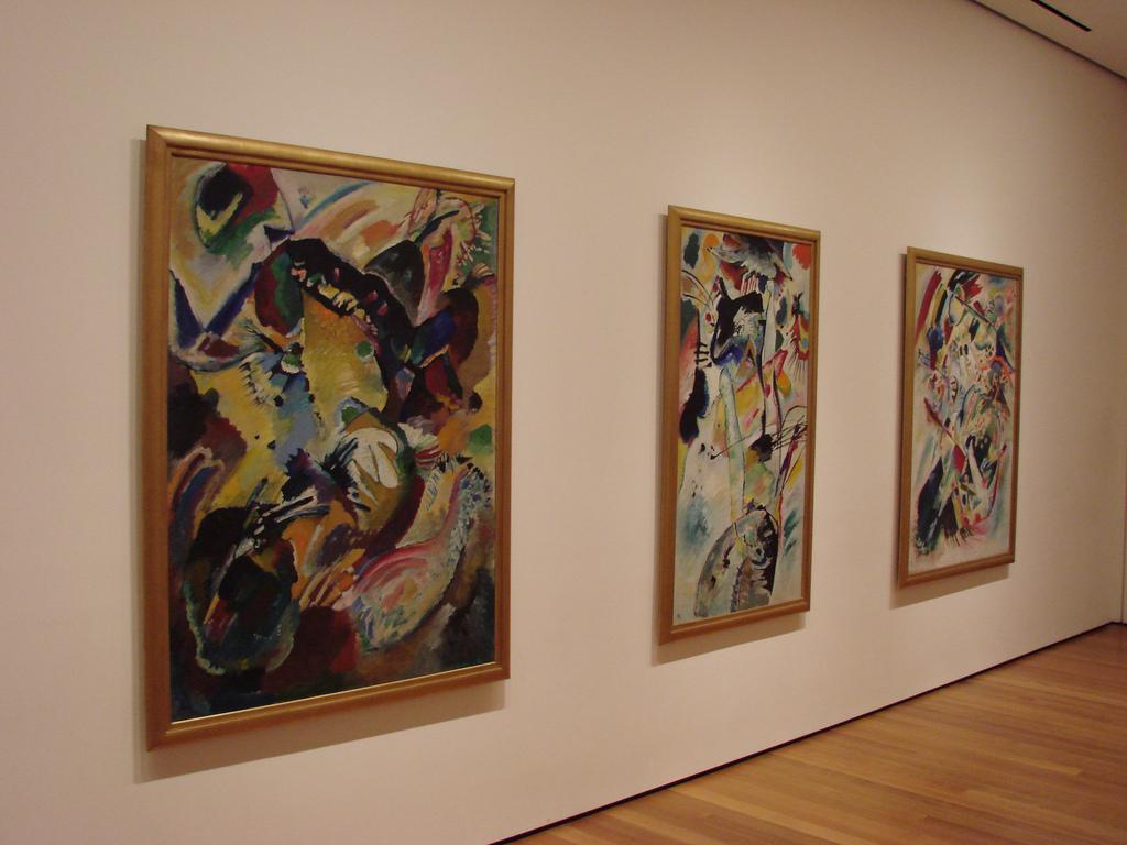 Залы музея МоМА, Нью-Йорк