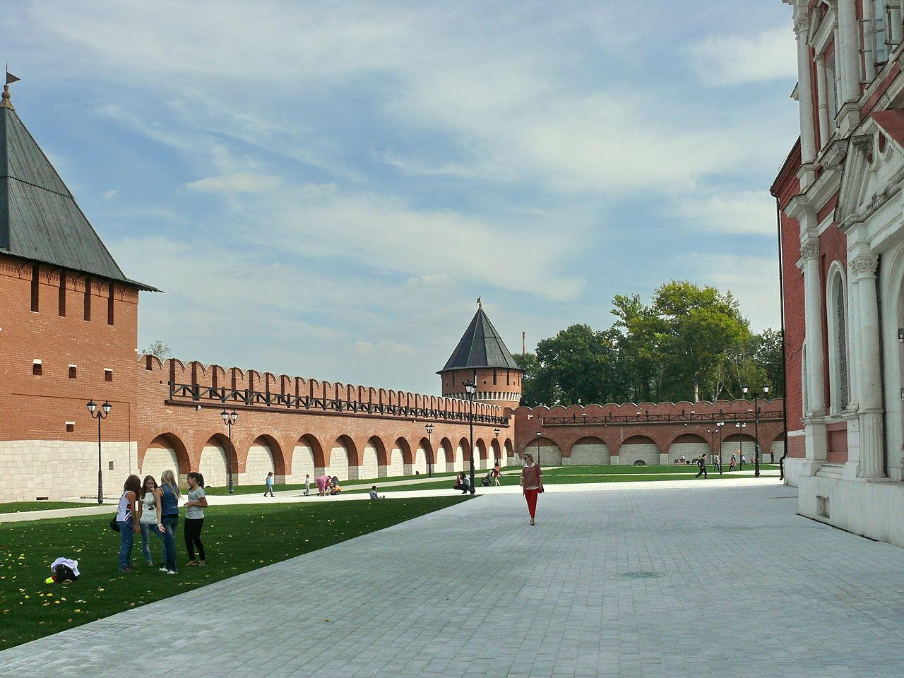 Ивановская (Тайницкая) башня Тульского кремля