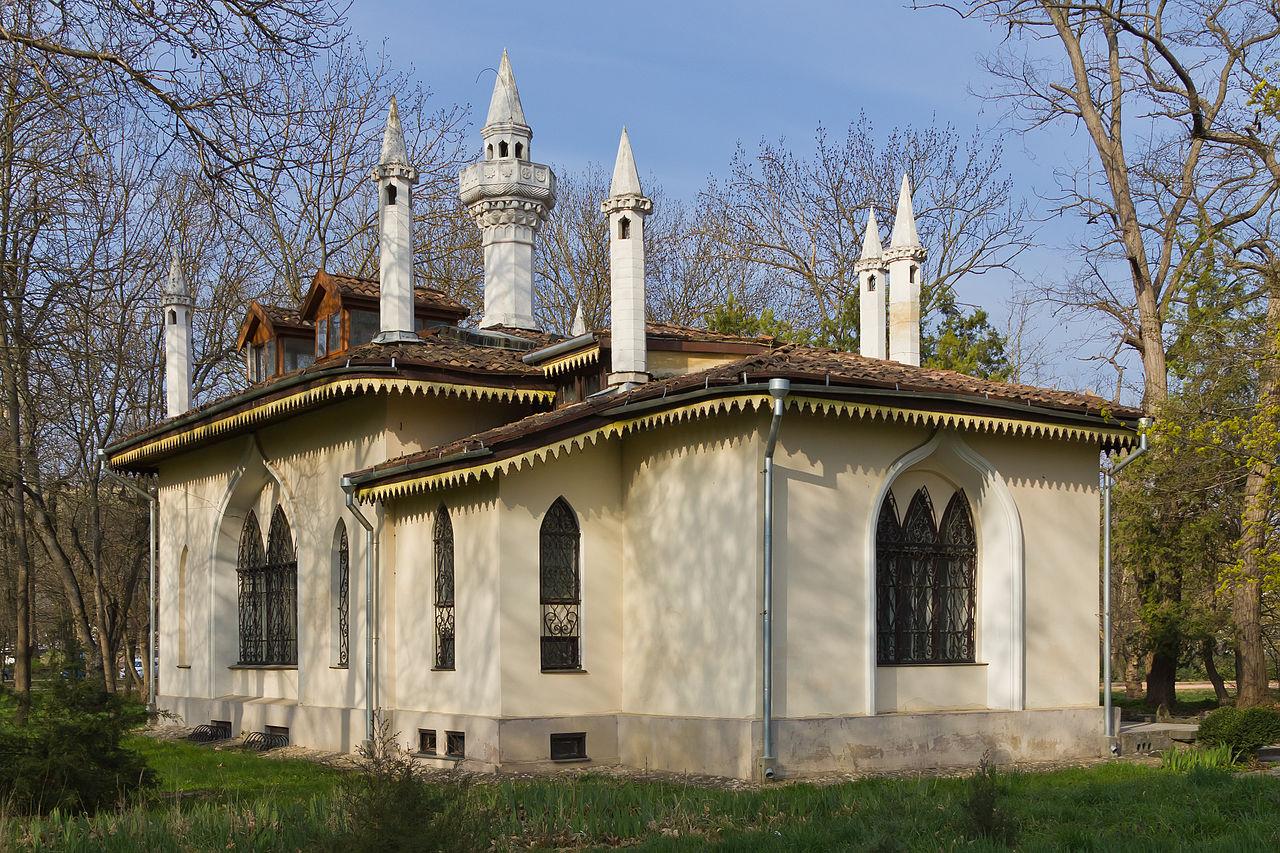 Кухонный домик особняка Воронцова в Ботаническом саду в Симферополе