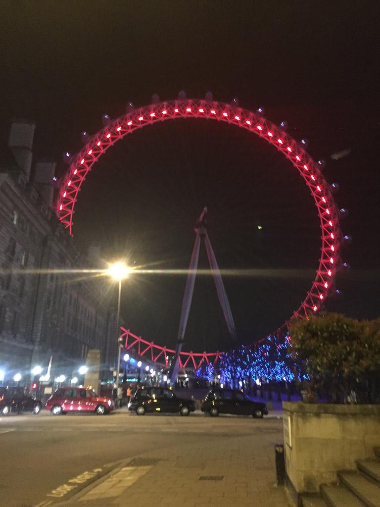 Лондонский глаз — одно из крупнейших колёс обозрения в Европе
