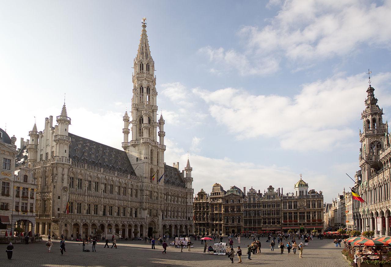 Ратуша на площади Гран-Плас, Брюссель