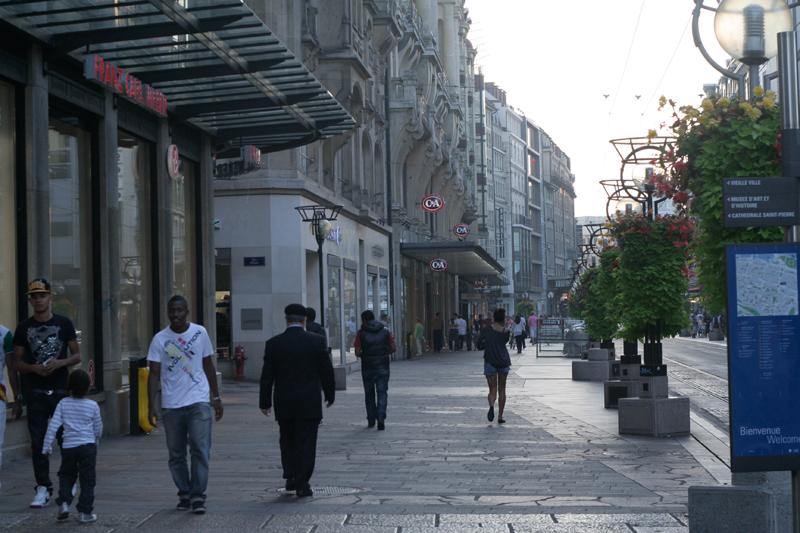 Улицы женевы фото туристов