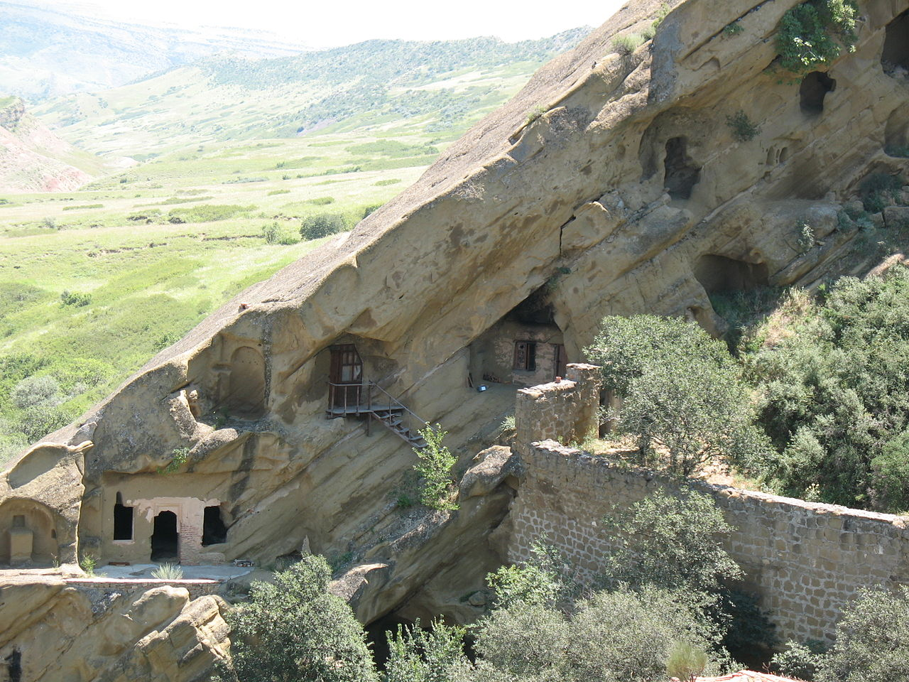 Давидо-Гареджийский комплекс, пещерные монастыри