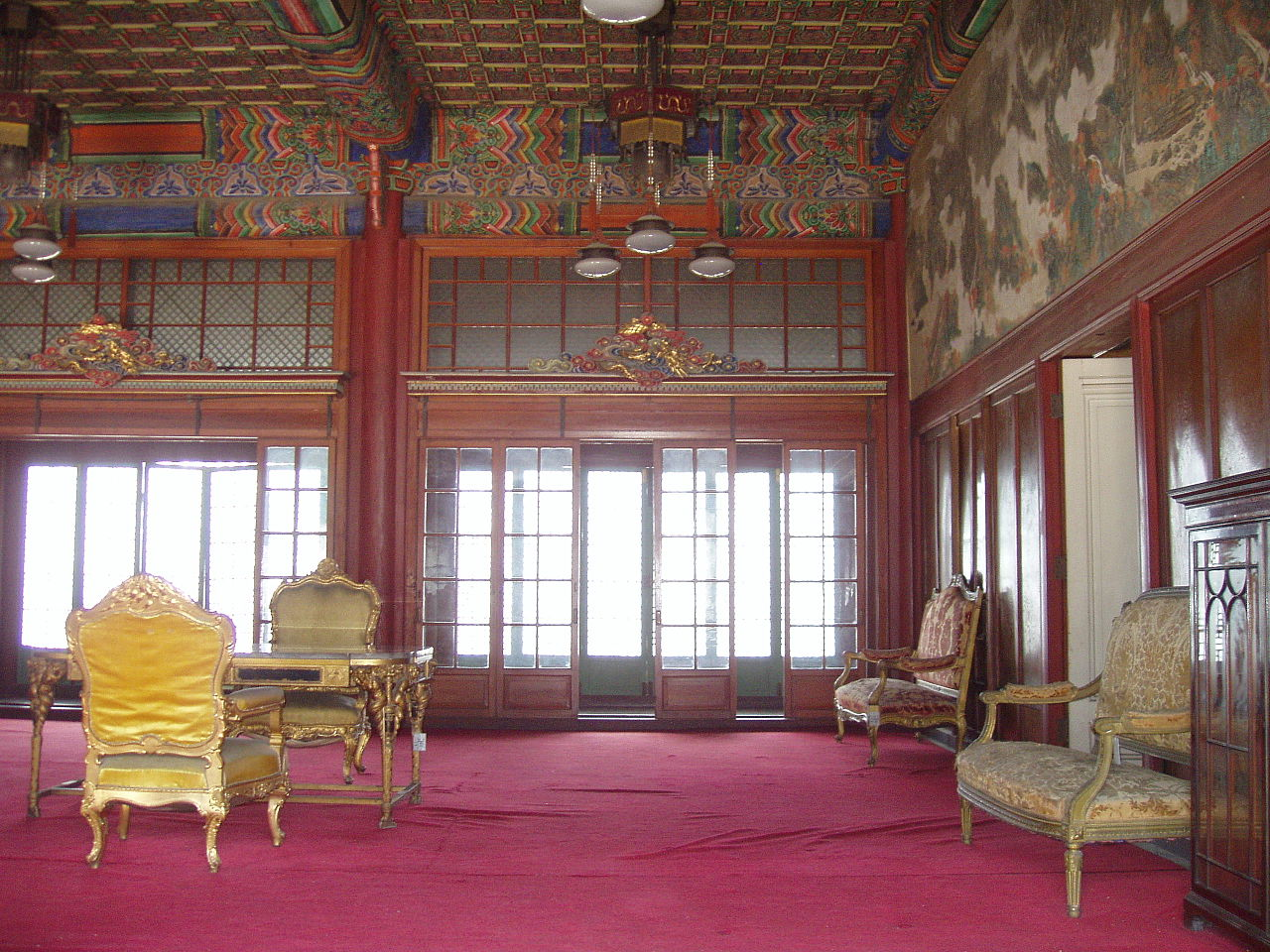 Дворец Чхандоккун в Сеуле, зал Хведжондан