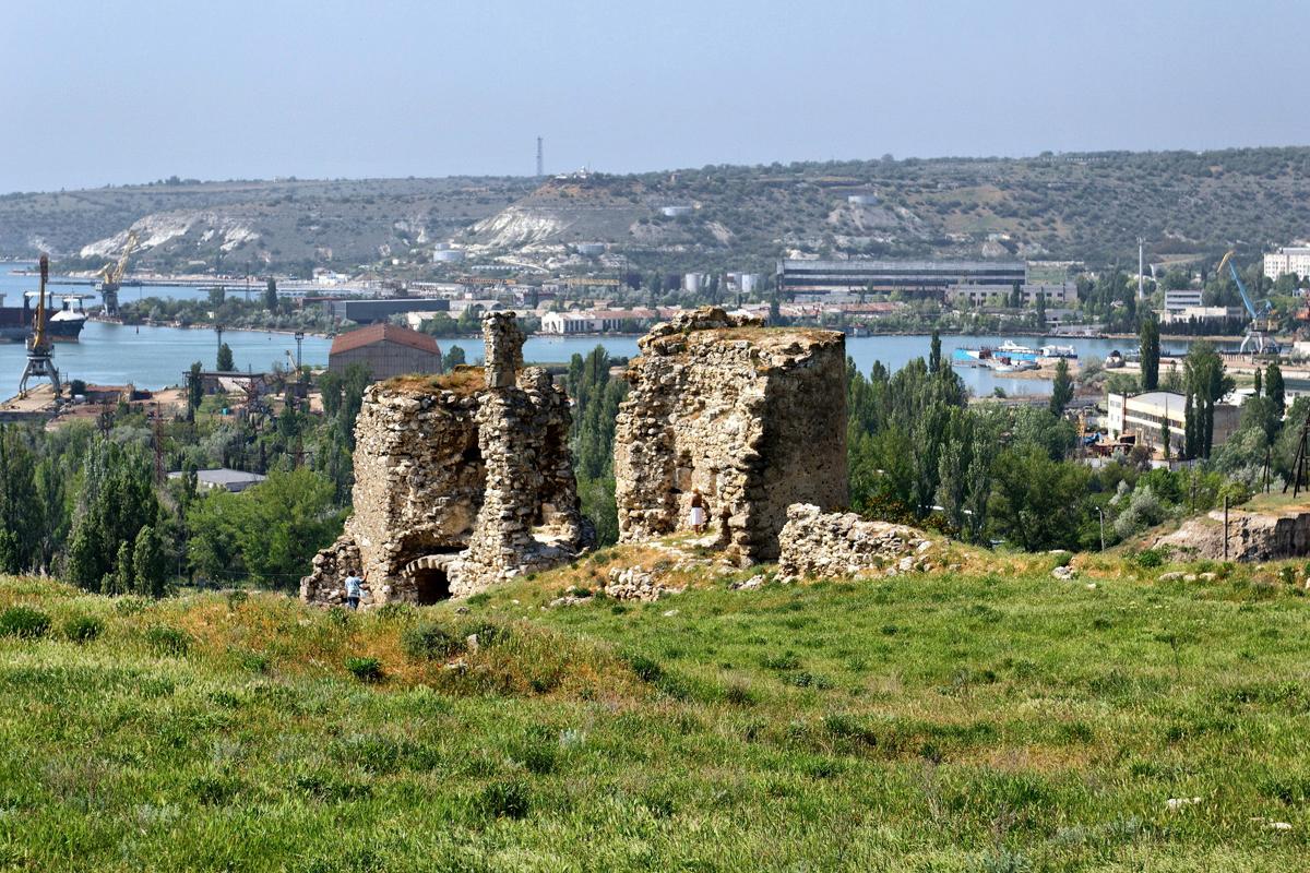 Крепость Каламита в Севастополе